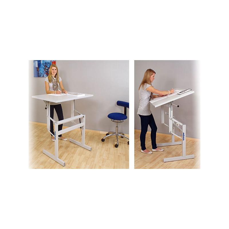 h henverstellbarer tisch preisvergleich die besten angebote online kaufen. Black Bedroom Furniture Sets. Home Design Ideas