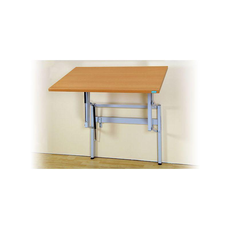 Höhenverstellbarer Tisch Ergo S 67 W Zur Wandmontage Tischhoum