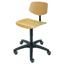 Working Chair Modell 6130 with Casters by Lotz