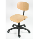 Working Chair Modell 6165 with Wheels by Lotz