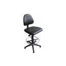 Work Chair Modell 8545 with Gliders and Footrim by Lotz