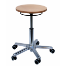 Swivel Stool Model 3861 Seatheight 46-66 cm with Gliders...