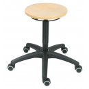Swivel Stool Model 3520 with Casters by Lotz