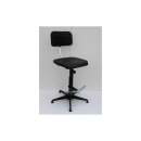 High Work Chair Modell 6172 with Gliders by Lotz