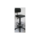 High Work Chair Modell 6175 with Gliders and Footrim by Lotz